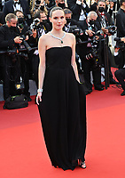 CANNES, FRANCE. July 17, 2021: Ana Girardot  at the Closing Gala & Awards Ceremony, and From Africa With Love Premiere at the 74th Festival de Cannes.<br /> Picture: Paul Smith / Featureflash