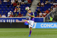 Harrison, NJ - Wednesday Aug. 03, 2016: Jose Pinto Samayoa during a CONCACAF Champions League match between the New York Red Bulls and Antigua at Red Bull Arena.