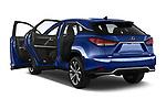 Car images of 2021 Lexus RX 450h-F-SPORT 5 Door SUV Doors