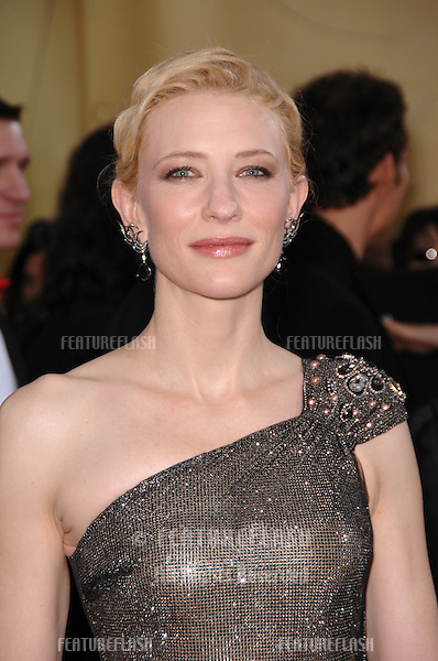 Cate Blanchett at the 79th Annual Academy Awards at the Kodak Theatre, Hollywood..February 26, 2007  Los Angeles, CA.Picture: Paul Smith / Featureflash