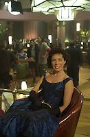 Nov 2003 File Photo<br /> Celine Bonnier on the set of Monica La Mitraille