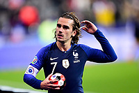 Antoine Griezmann (Fra) <br /> Paris 20191114 Stade De France  <br /> Football France - Moldavia <br /> Qualification Euro 2020 <br /> Foto JB Autissier / Panoramic/Insidefoto <br /> ITALY ONLY