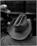 1997 -- Santa Fe, New Mexico. -- A roughneck cowboy. Scenes from the great state of New Mexico. Along Route 66 and down towards White Sands National Monument..©Andrew Kaufman