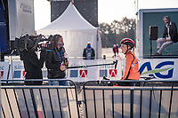 Annemarie Worst (NED/777) interviewed pre-race<br /> <br /> UEC Cyclocross European Championships 2020 - 's-Hertogenbosch (NED)<br /> <br /> U23 MEN<br /> <br /> ©kramon