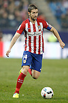 Atletico de Madrid's Gabi Fernandez during Spanish Kings Cup match. January 27,2016. (ALTERPHOTOS/Acero)