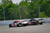 #18: Jeffrey Earnhardt, Joe Gibbs Racing, Toyota Supra iK9, #23: John Hunter Nemechek, GMS Racing, Chevrolet Camaro ISM Connect