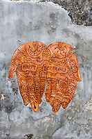 Wall Painting by Erik Lai, for Deepavali Celebration, Ipoh, Malaysia.