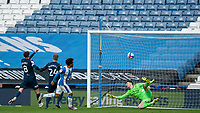 20th February 2021; The John Smiths Stadium, Huddersfield, Yorkshire, England; English Football League Championship Football, Huddersfield Town versus Swansea City; Duane Holmes of Huddersfield Town  goal in the 52nd minute