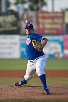April 22 2010: Ryan Searle (37) of the Daytona Beach Cubs during a game vs. the Tampa Yankees at Jackie Robinson Ballpark in Daytona Beach, Florida. Daytona, the Florida State League High-A affiliate of the Chicago Cubs, won the game against Tampa, affiliate of the New York Yankees, by the score of 9-6.  Photo By Scott Jontes/Four Seam Images