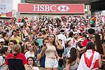 South Korea vs Japan during their Shield Semi-final match as part of the HSBC Hong Kong Rugby Sevens 2017 on 09 April 2017 in Hong Kong Stadium, Hong Kong, China. Photo by Marcio Rodrigo Machado / Power Sport Images