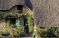 Europe/France/Pays de la Loire/44/Loire-Atlantique/Parc Naturel Régional de Brière/Kerhinet: Les chaumières