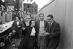 Silver Jubilee Street Party,  1977   Whitechapel Tower Hamlets east end London.<br /> <br /> My ref 7a/2056/,1977,