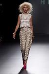 01.09.2012. Models walk the runway in the Teresa Helbig fashion show during the Mercedes-Benz Fashion Week Madrid Spring/Summer 2013 at Ifema. (Alterphotos/Marta Gonzalez)