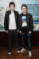 NO REPRO FEE. OXYGEN 2011 LAUNCH. Pictured at the Academy, Dublin for the launch of Oxygen 2011 are Brian Maher and Dara Quilty . The three day music festival which takes place July 8th, 9th, 10th at Punchestown Racecourse, Naas, Co Kildare. Picture James Horan/Collins Photos