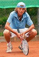 8-8-09, Asten,NJK, Tennis, Rens van der Vis