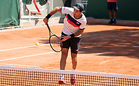 Paris, France, 1 june 2021, Tennis, French Open, Roland Garros, First round doubles match:  Jean-Julien Rojer (NED)<br /> Photo: tennisimages.com