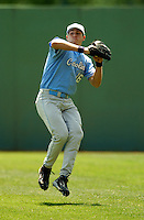North Carolina Tar Heels' OF Seth Baldwin   in action vs. the Boston College Eagles  at Shea Field May 16, 2009 in Chestnut Hill, MA (Photo by Ken Babbitt/Four Seam Images)