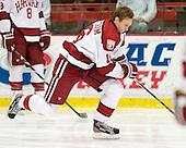 Alex Fallstrom (Harvard - 16) - The Harvard University Crimson defeated the visiting Bentley University Falcons 5-0 on Saturday, October 27, 2012, at Bright Hockey Center in Boston, Massachusetts.