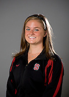 Corinne Smith of the Stanford synchronized swimming team.