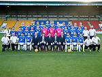 St Johnstone FC Photocall….2018/19 Season<br />Pictured back row from left, Liam Craig, Ali McCann, Brian Easton, Murray Davidson, Greg Hurst, Liam Gordon, Jason Kerr, Steven Anderson, Ross Callachan, Tony Watt, Kyle McClean and David McMillan.<br />Middle row from left, Mel Stewart (Physio), Aaron Comrie, Danny Swanson, Tristan Nydam, Stefan Scougall, Blair Alston, Ross Sinclair, Zander Clark, Mark Hurst, Scott Tanser, Callum Hendry, Chris Kane, Alan Maybury (U20's Coach) and Paul Mathers (Goalkeeping Coach).<br />Front row from left, Ewan Peacock (Chief Scout), Alex Headrick (Sports Science), Matty Kennedy, Joe Shaughnessy (Captain), Charlie Fraser (Vice-Chairman), Tommy Wright (Manager), Steven Brown (Chairman), Alex Cleland (Assistant Manager) Stan Harris (Director), David Wotherspoon, Richard Foster, Drey Wright, Graeme Robertson (Kit Manager) and Alistair Stevenson Youth Development Manager<br />Picture by Graeme Hart.<br />Copyright Perthshire Picture Agency<br />Tel: 01738 623350  Mobile: 07990 594431