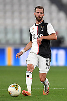 Miralem Pjanic of Juventus in action during the Serie A football match between Juventus FC and US Lecce at Juventus stadium in Turin  ( Italy ), June 26th, 2020. Play resumes behind closed doors following the outbreak of the coronavirus disease. Photo Andrea Staccioli / Insidefoto