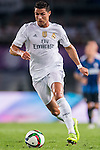 Cristiano Ronaldo of Real Madrid CF in action during the FC Internazionale Milano vs Real Madrid  as part of the International Champions Cup 2015 at the Tianhe Sports Centre on 27 July 2015 in Guangzhou, China. Photo by Aitor Alcalde / Power Sport Images