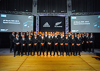 150830 Rugby World Cup 2015 - All Blacks Team Announcement