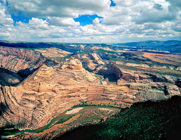 Yampa River in Dinosaur National Monument, Colorado, John leads private photo tours throughout Colorado, year-round.