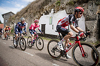 Tosh Van der Sande (BEL/Lotto Soudal) up the Geulhemmerberg<br /> <br /> 55th Amstel Gold Race 2021 (1.UWT)<br /> 1 day race from Valkenburg to Berg en Terblijt; raced on closed circuit (NED/217km)<br /> <br /> ©kramon