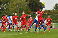 Dayshonne Golding of Worthing during Enfield Town vs Worthing, Pitching In Isthmian League Premier Division Football at the Queen Elizabeth II Stadium on 16th October 2021