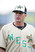 June 24, 2009: Nate Tenbrink of the Clinton Lumber Kings at the 2009 Midwest League All Star Game at Alliant Energy Field in Clinton, IA.  Photo by: Chris Proctor/Four Seam Images