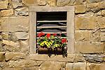 Nippenose Valley. Window planter on barn side.