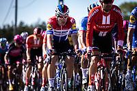 dutch national champion Fabio Jakobsen (NED/Deceuninck Quick Step) in the peloton<br /> <br /> 104th Kampioenschap van Vlaanderen 2019<br /> One Day Race: Koolskamp > Koolskamp 186km (UCI 1.1)<br /> ©kramon