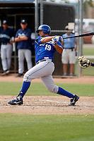 Juan Graterol  - Kansas City Royals - 2009 spring training.Photo by:  Bill Mitchell/Four Seam Images