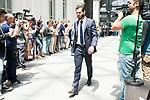 Real Madrid's Nacho Fernandez arrives to Crystal Gallery of the Palacio de Cibeles in Madrid, May 22, 2017. Spain.<br /> (ALTERPHOTOS/BorjaB.Hojas)