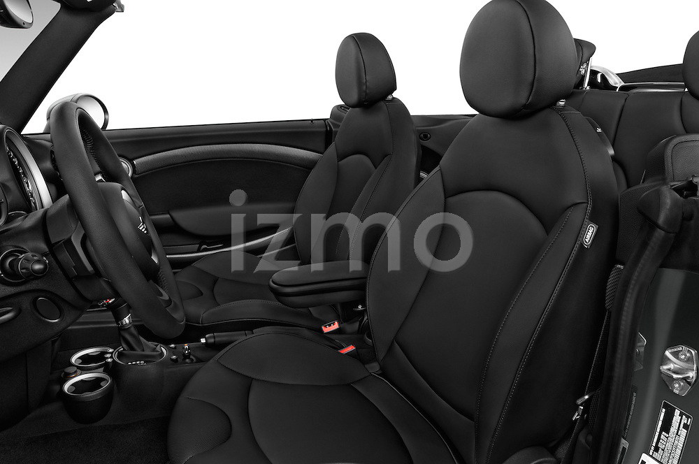 Front seat view of a 2015 MINI Mini Cooper S 2 Door Convertible Front Seat car photos