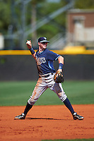 Tampa Bay Rays Jake Cronenworth (58) during a minor league Spring Training intrasquad game on April 1, 2016 at Charlotte Sports Park in Port Charlotte, Florida.  (Mike Janes/Four Seam Images)