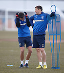 Kal Naismith and Lee McCulloch