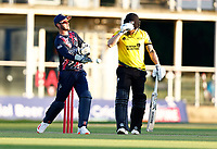 Ollie Robertson fields for Kent during Kent Spitfires vs Gloucestershire, Vitality Blast T20 Cricket at The Spitfire Ground on 13th June 2021