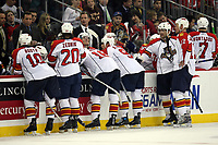 Besprechung Florida Panthers<br /> New Jersey Devils vs. Florida Panthers<br /> *** Local Caption *** Foto ist honorarpflichtig! zzgl. gesetzl. MwSt. Auf Anfrage in hoeherer Qualitaet/Aufloesung. Belegexemplar an: Marc Schueler, Am Ziegelfalltor 4, 64625 Bensheim, Tel. +49 (0) 6251 86 96 134, www.gameday-mediaservices.de. Email: marc.schueler@gameday-mediaservices.de, Bankverbindung: Volksbank Bergstrasse, Kto.: 151297, BLZ: 50960101