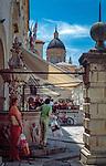 Kroatien, Dalmatien, Dubrovnik: Altstadt - UNESCO Weltkulturerbe - im Hintergrund Kathedrale von Dubrovnik | Croatia, Dalmatia, Dubrovnik: Old Town - UNESCO world heritage - at background Dubrovnik cathedral