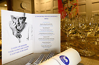Melbourne, July 21, 2018 - The Salon Paul Bocuse being prepared for a dinner at Philippe Restaurant in Melbourne, Australia. Photo Sydney Low