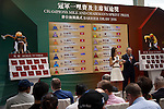 SHA TIN,HONG KONG-APRIL 28: Champions Mile/Chairman's Sprint Prize Barrier Draw at Sha Tin Racecourse on April 28,2016 in Sha Tin,New Territories,Hong Kong (Photo by Kaz Ishida/Eclipse Sportswire/Getty Images)