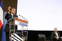 Francois Fillon - ASSEMBLEE DES DEPARTEMENTS DE FRANCE AVEC LES CANDIDATS A L'ELECTION PRESIDENTIELLE