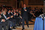 SILVIO BERLUSCONI<br /> PREMIO GUIDO CARLI - TERZA  EDIZIONE<br /> PALAZZO DI MONTECITORIO - SALA DELLA LUPA<br /> CON RICEVIMENTO  HOTEL MAJESTIC   ROMA 2012