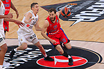 Turkish Airlines Euroleague.<br /> Final Four - Vitoria-Gasteiz 2019.<br /> Semifinals.<br /> CSKA Moscow vs Real Madrid: 95-90.<br /> Jaycee Carroll vs Sergio Rodriguez.