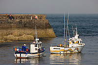 Europe/France/Normandie/Basse-Normandie/50/Manche/Presqu'île de la Hague/Omonville-la-Rogue:le port du Hâble