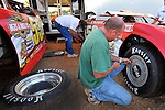 May 21, 2009; 8:19:12 PM; West Plains, Mo., USA; The 17th Annual of the Show-Me 100 Lucas Oil Series sanctioned event running at the West Plains Motor Speedway.  Mandatory Credit: (thesportswire.net)