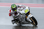 Cal Crutchlow (35) in action during the first practice session of the Red Bull Grand Prix of the Americas race at the Circuit of the Americas racetrack in Austin,Texas.