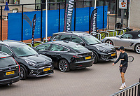 Amstelveen, Netherlands, 5  Juli, 2021, National Tennis Center, NTC, Amstelveen Womans Open, official cars<br /> <br /> Photo: Henk Koster/tennisimages.com
